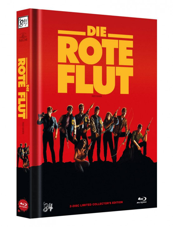 Die Rote Flut - Limited Collectors Edition - Cover B [Blu-ray+DVD]