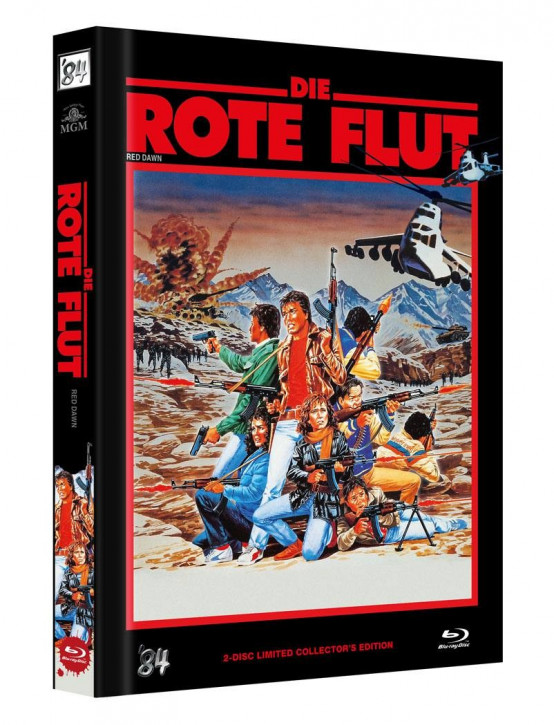Die Rote Flut - Limited Collectors Edition - Cover C [Blu-ray+DVD]