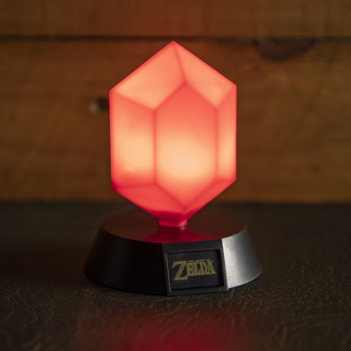 Icon Licht: Zelda - Roter Rupie