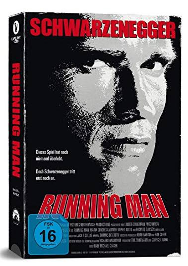Running Man - VHS-Edition [Blu-ray]