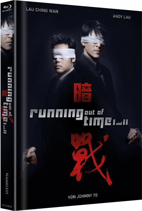 Running out of Time 1 & 2 - Limited Mediabook Edition - Cover B [Blu-ray]