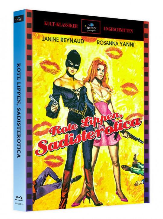 Sadisterotica - Rote Lippen - Mediabook - Cover A [Blu-ray]