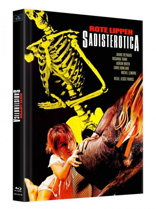Sadisterotica - Rote Lippen - Mediabook - Cover C [Blu-ray]