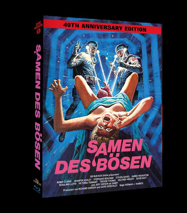 Samen des Bösen - Phantastische Filmklassiker Folge Nr. 11 - Cover Wattiert [Blu-ray]