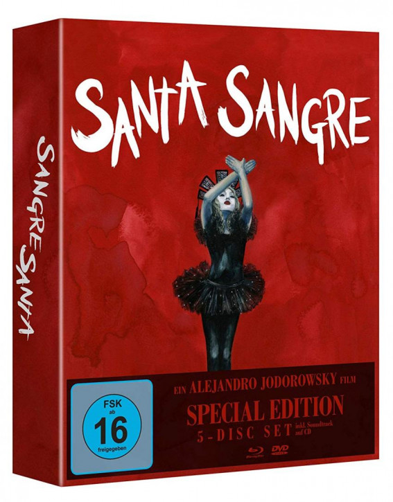 Santa Sangre - Special Edition [Blu-ray+DVD]