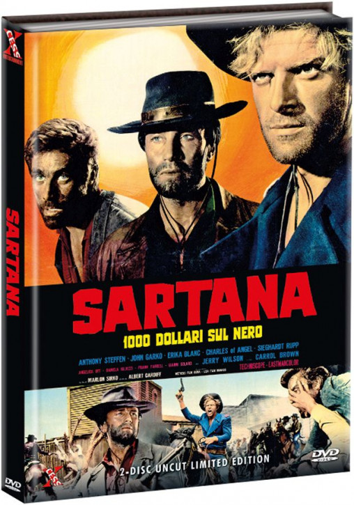 Sartana - Limited Edition - Cover A [DVD]