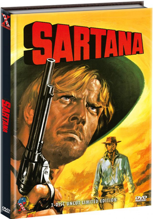 Sartana - Limited Edition - Cover B [DVD]