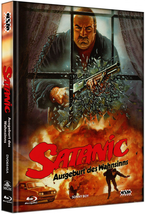 Satanic - Ausgeburt des Wahnsinns - Limited Collector's Edition - Cover A [Blu-ray+DVD]