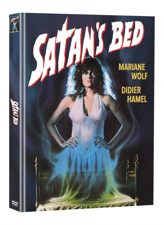 Satans Bed - Limited Mediabook Edition - Cover A (Super Spooky Stories #54) [DVD]