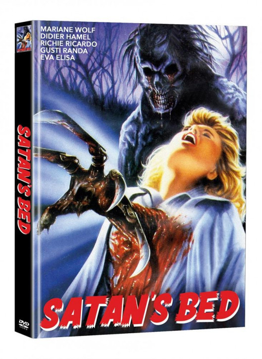 Satans Bed - Limited Mediabook Edition - Cover B (Super Spooky Stories #54) [DVD]
