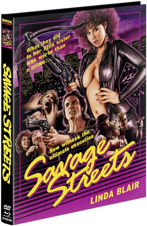 Savage Streets - Limited Mediabook [Blu-ray+DVD]