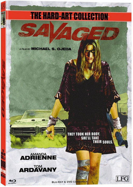 Savaged - Hart-Art Collection - Cover A [Blu-ray+DVD]