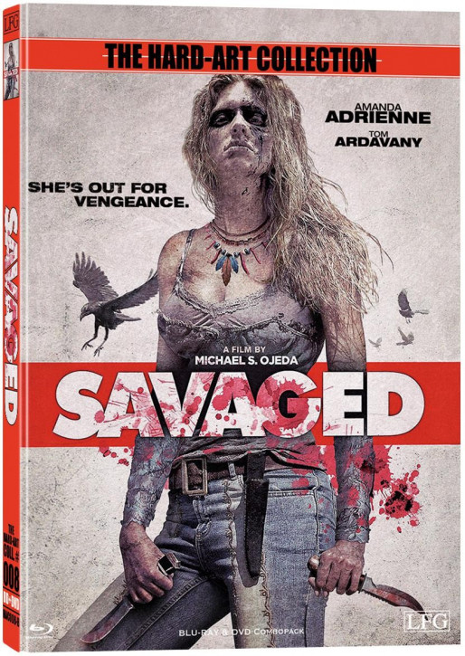 Savaged - Hart-Art Collection - Cover B [Blu-ray+DVD]