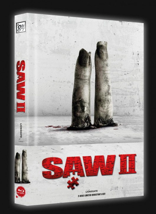 SAW II - Limited Collector's Edition - Cover A [Blu-ray+DVD]