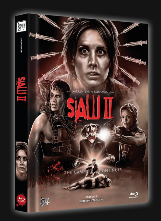 SAW II - Limited Collector's Edition - Cover B [Blu-ray]