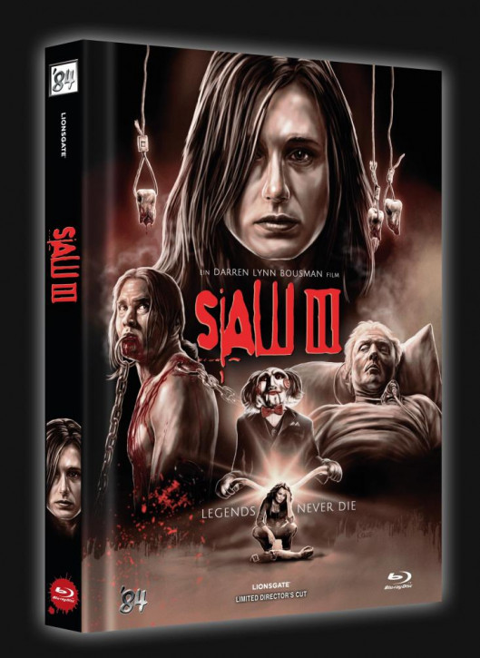 SAW III - Limited Collector's Edition - Cover B [Blu-ray]