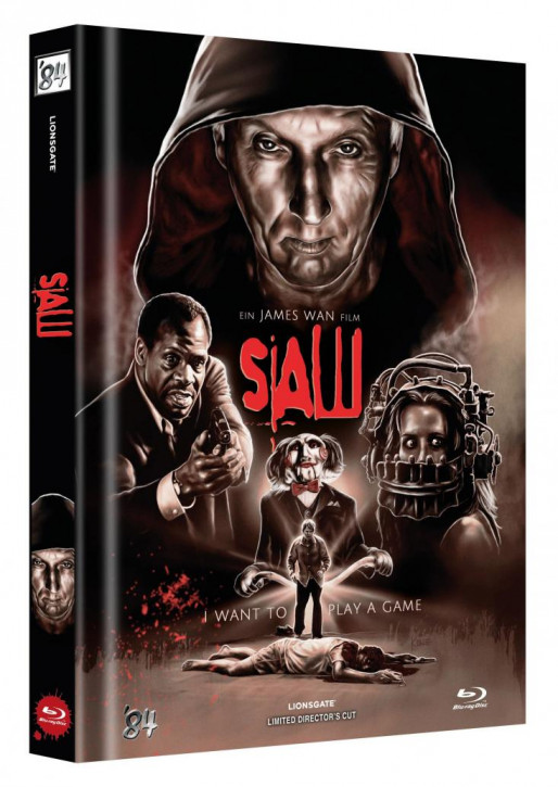 Saw - Limited Collector's Edition - Cover B [Blu-ray]
