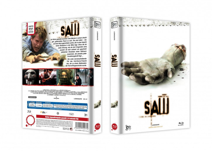 Saw - Limited Collector's Edition - Cover D [Blu-ray]