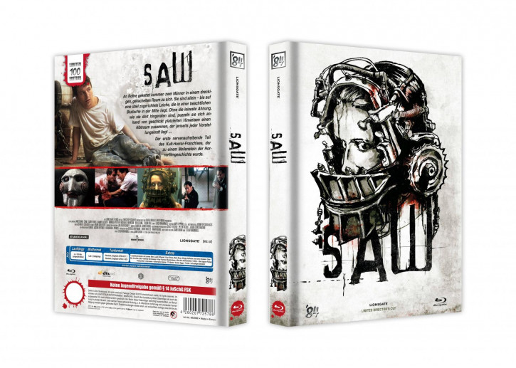 Saw - Limited Collector's Edition - Cover E [Blu-ray]