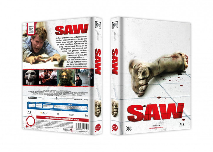 Saw - Limited Collector's Edition - Cover F [Blu-ray]