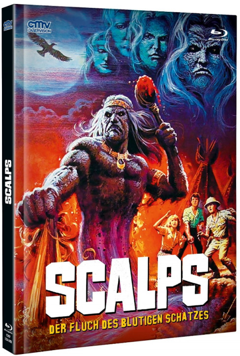 Scalps - Mediabook - Cover A [Blu-ray+DVD]