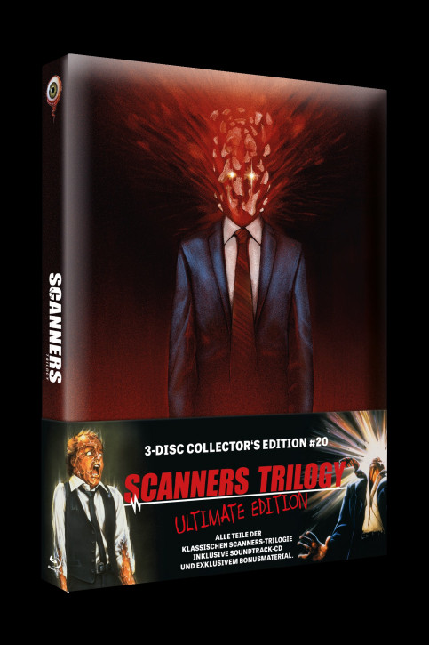 Scanners Trilogy - Ultimate Edition - Limited Collectors Edition #20 [Blu-ray]