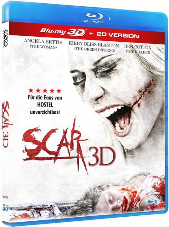 Scar 3D - Uncut [3D Blu-ray]