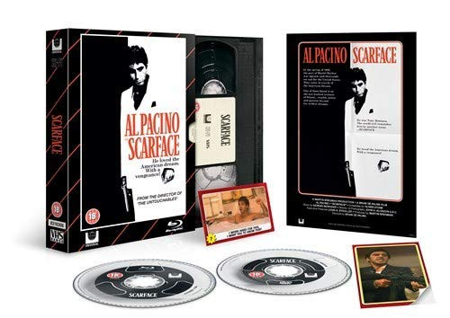 Scarface - Limited VHS-Edition (UK-Import) [Blu-ray+DVD]