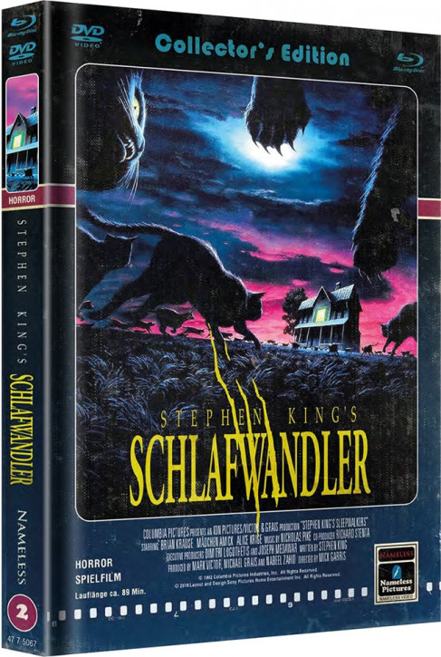 Schlafwandler - Limited Mediabook Edition - Cover A [Blu-ray+DVD]