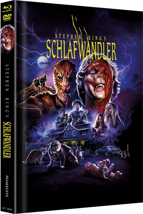 Schlafwandler - Limited Mediabook Edition - Cover B [Blu-ray+DVD]