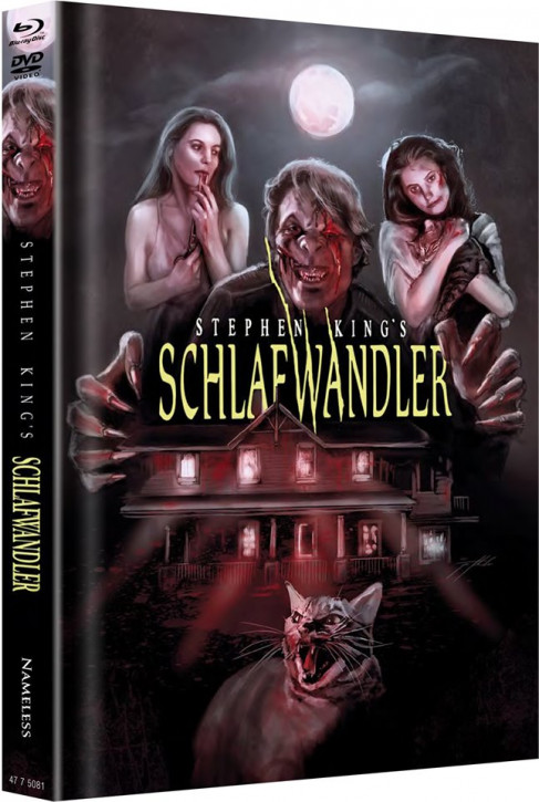 Schlafwandler - Limited Mediabook Edition - Cover C [Blu-ray+DVD]