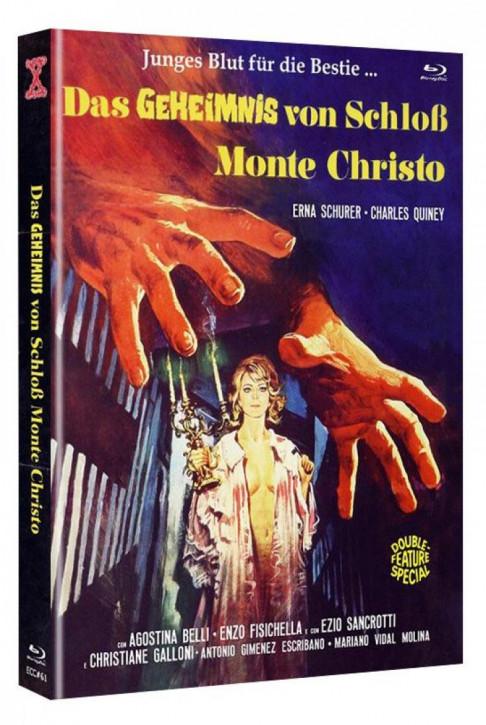 Das Geheimnis von Schloss Monte Christo - Eurocult Collection #061 - Mediabook - Cover A [Blu-ray+DVD]
