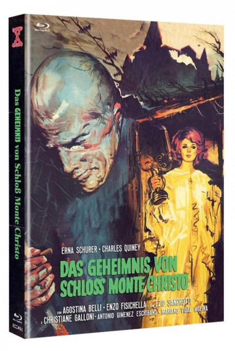 Das Geheimnis von Schloss Monte Christo - Eurocult Collection #061 - Mediabook - Cover B [Blu-ray+DVD]