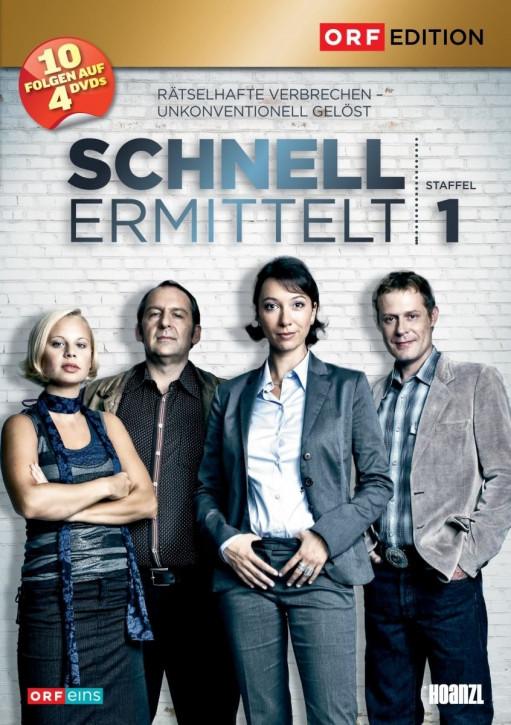 Schnell ermittelt  - Staffel 1 [DVD]