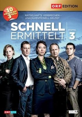 Schnell ermittelt  - Staffel 3 [DVD]