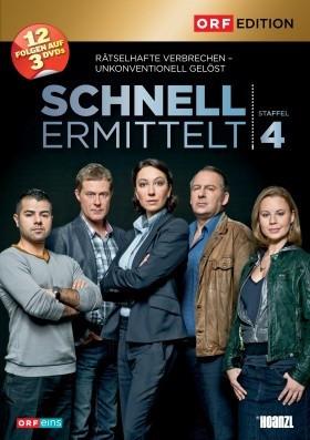 Schnell ermittelt  - Staffel 4 [DVD]