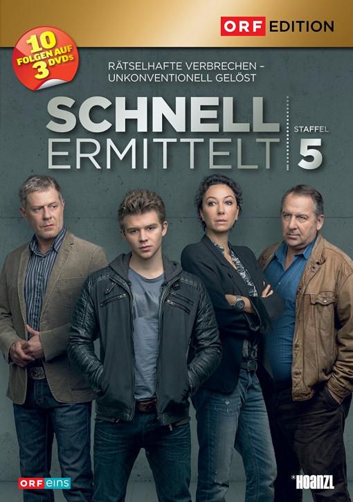 Schnell ermittelt  - Staffel 5 [DVD]
