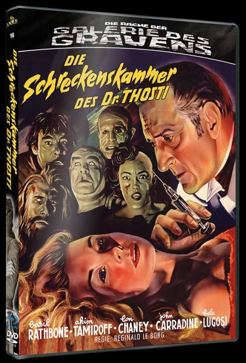 Die Schreckenskammer des Dr. Thosti - Die Rache der Galerie des Grauens #10 [Blu-ray+DVD]