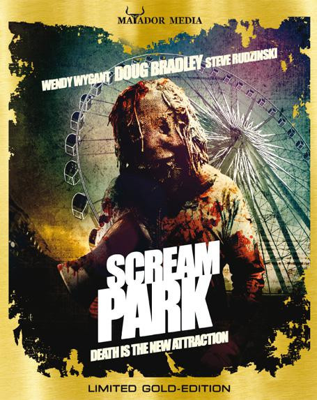 Scream Park - Limited Gold Edition [Blu-ray]