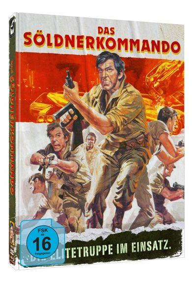 Das Söldnerkommando - Limited Mediabook Edition - Cover A [Blu-ray+DVD]