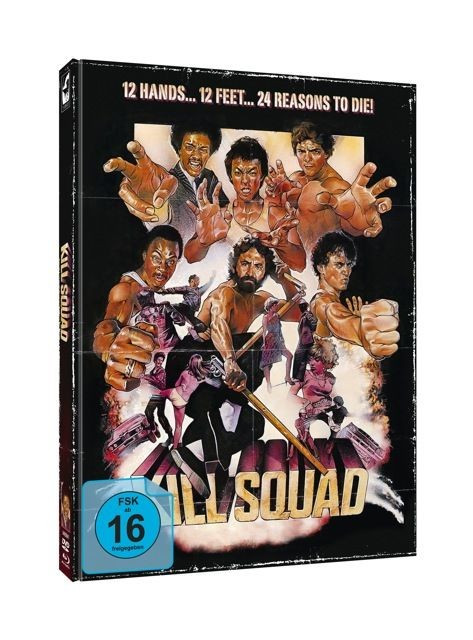Das Söldnerkommando - Limited Mediabook Edition - Cover B [Blu-ray+DVD]