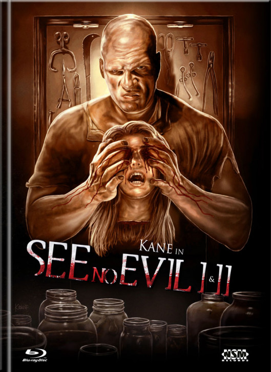 See no Evil 1&2 - Limited Mediabook Edition - Cover A [Blu-ray+DVD]