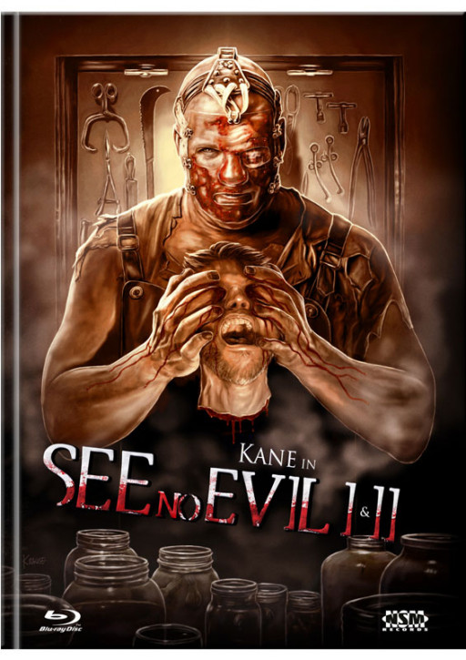 See no Evil 1&2 - Limited Mediabook Edition - Cover B [Blu-ray+DVD]