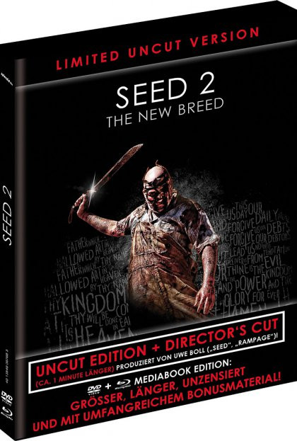 Seed 2 - The New Breed - Limited Black Book Edition (Directors Cut) [Blu-ray+DVD]