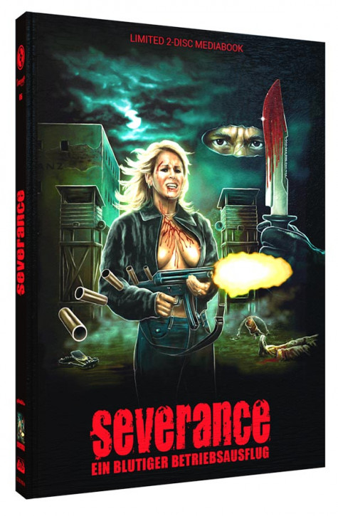 Severance - Limited Mediabook Edition - Cover A [Blu-ray+DVD]