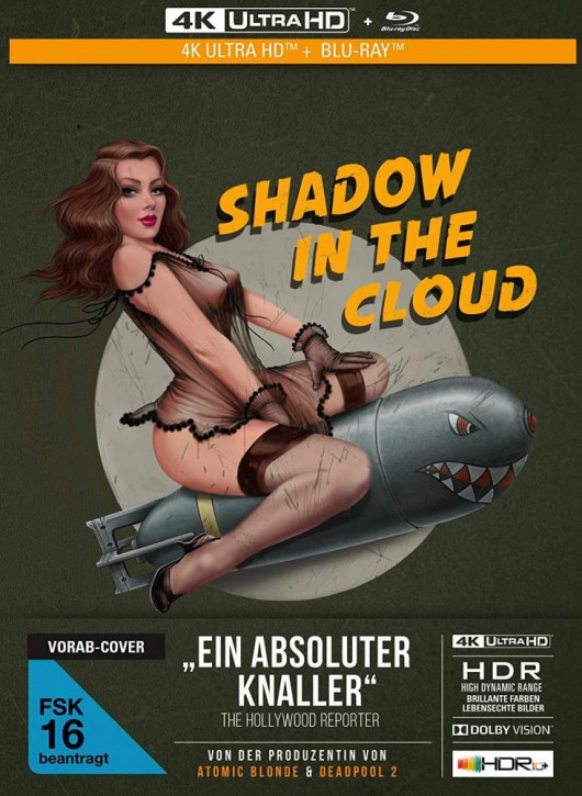 Shadow in the Cloud - Limited Mediabook Edition [4K UHD+Blu-ray]