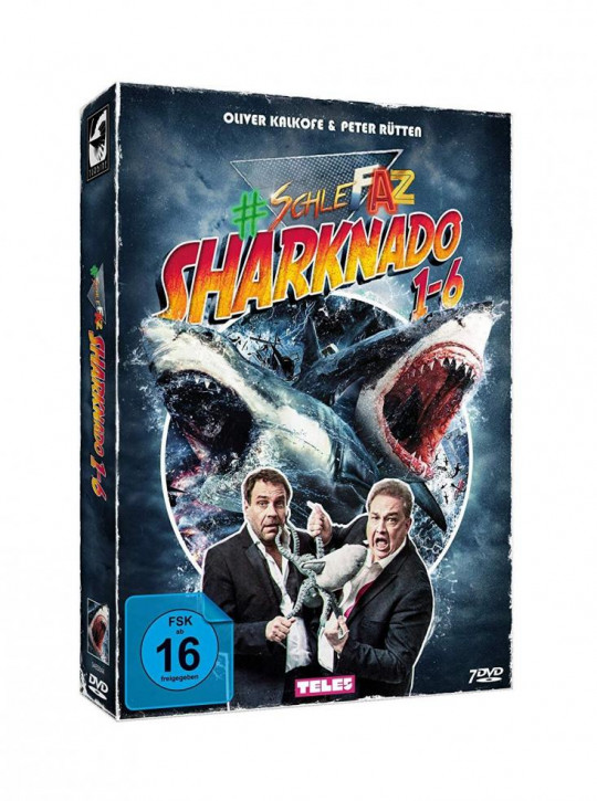 SchleFaZ Sharknado 1-6 - Limited Collectors Edition im VHS-Design [DVD]