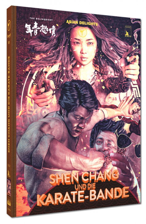 Shen Chang und die Karate-Bande - Limited Mediabook Edition - Cover A [Blu-ray+DVD]