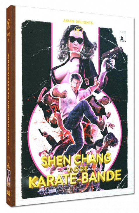 Shen Chang und die Karate-Bande - Limited Mediabook Edition - Cover E [Blu-ray+DVD]