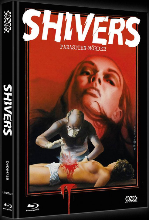 Shivers - Limited Collector's Edition - Cover B [Bluray+DVD]